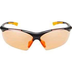 UVEX Sportstyle 223 Occhiali, black/orange/orange